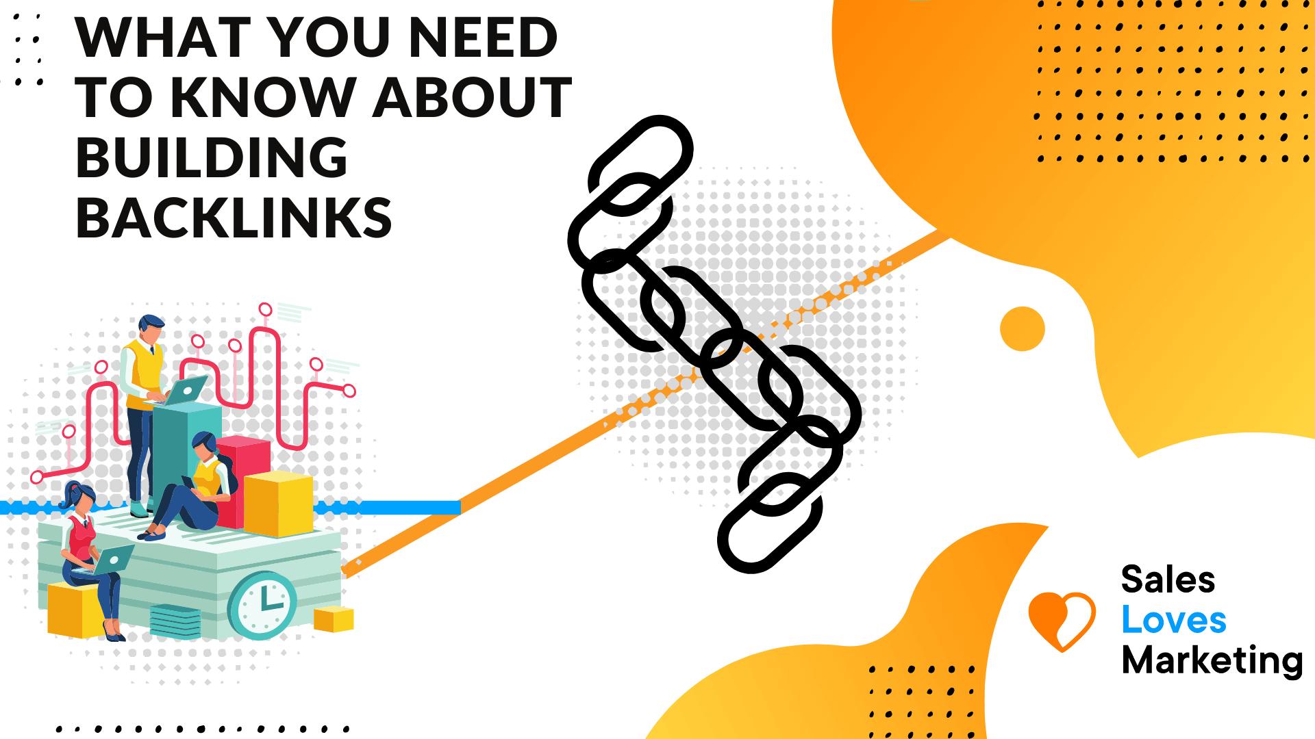 building backlinks for SEO