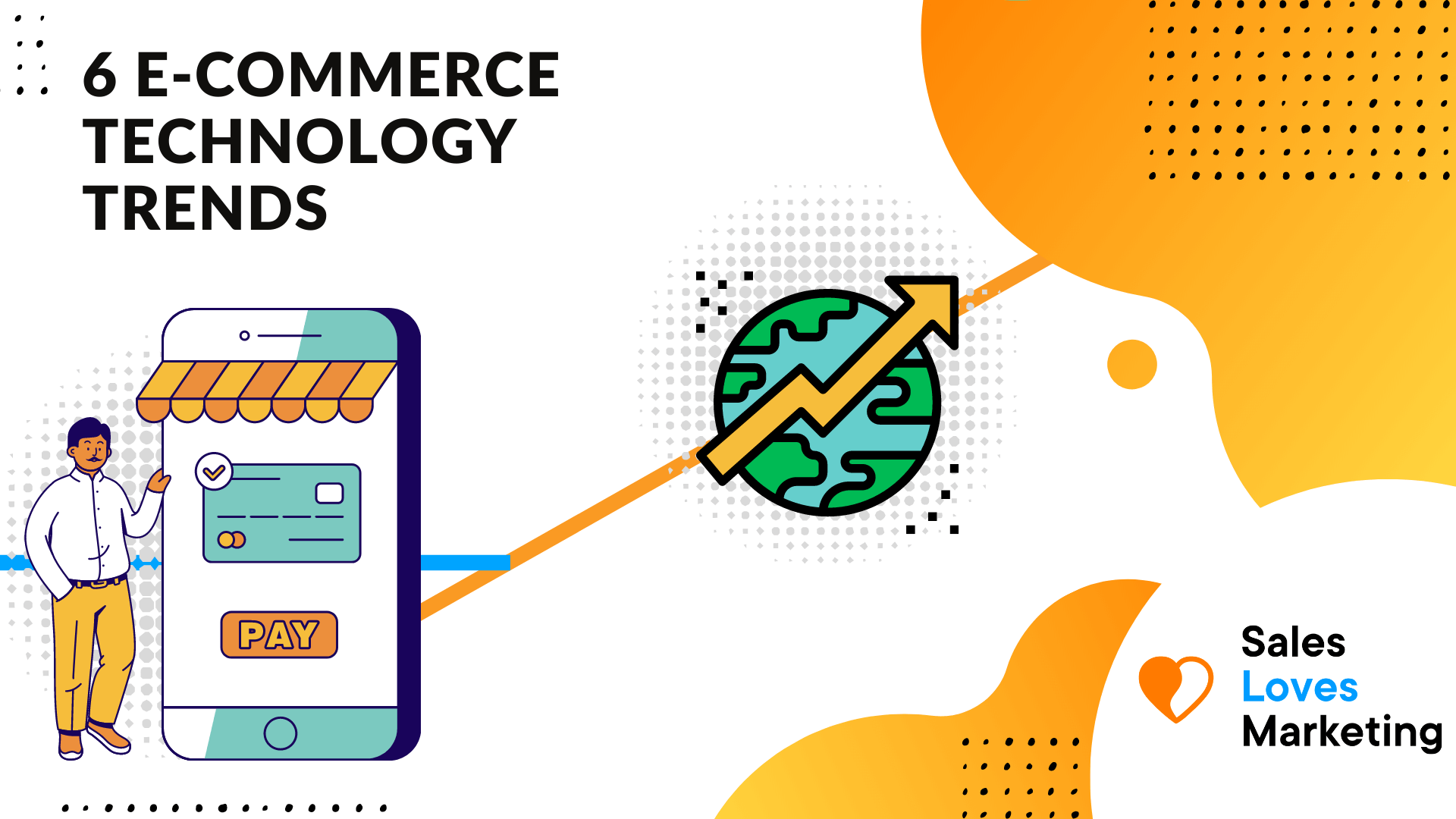 Technology trends that will shape the future of e-commerce.