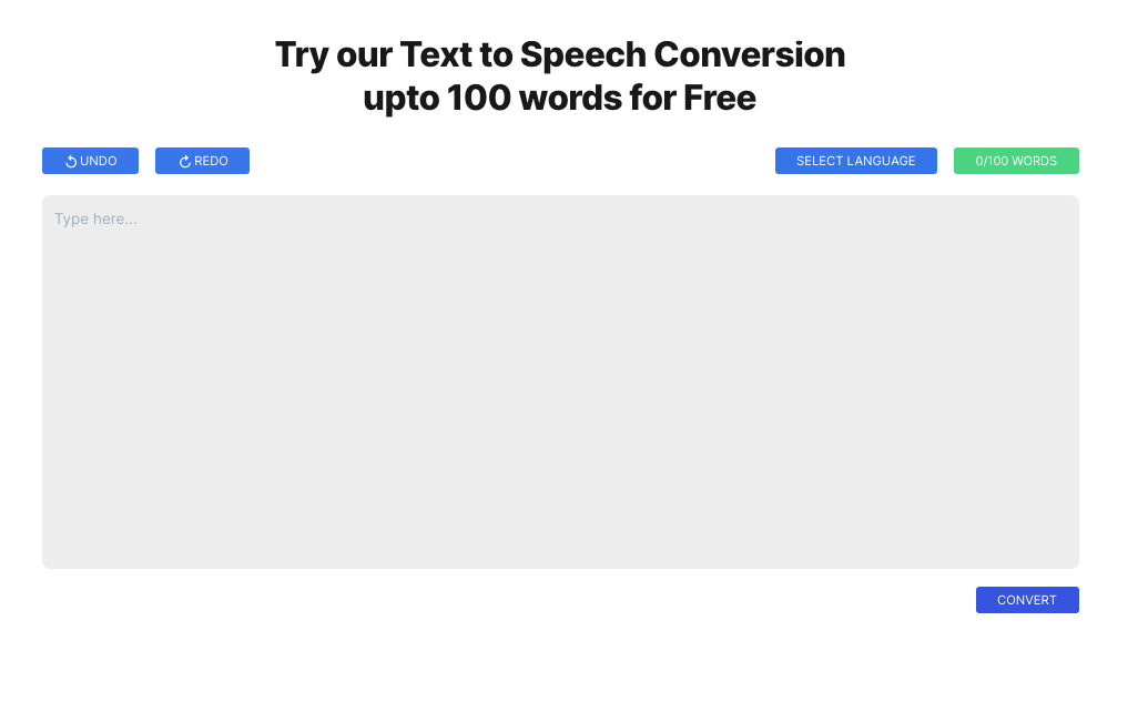 turn any text into speech easily with listnr