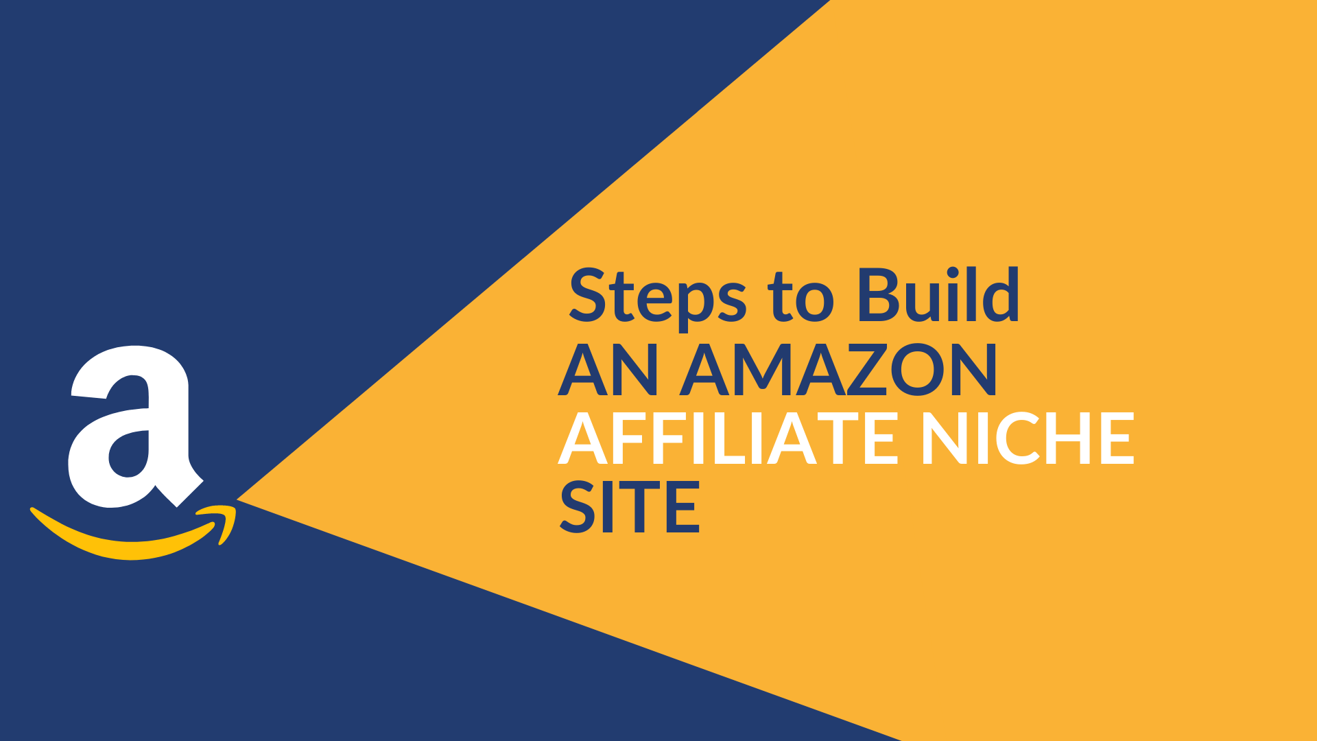 what are the steps to build an amazon affliate niche site.