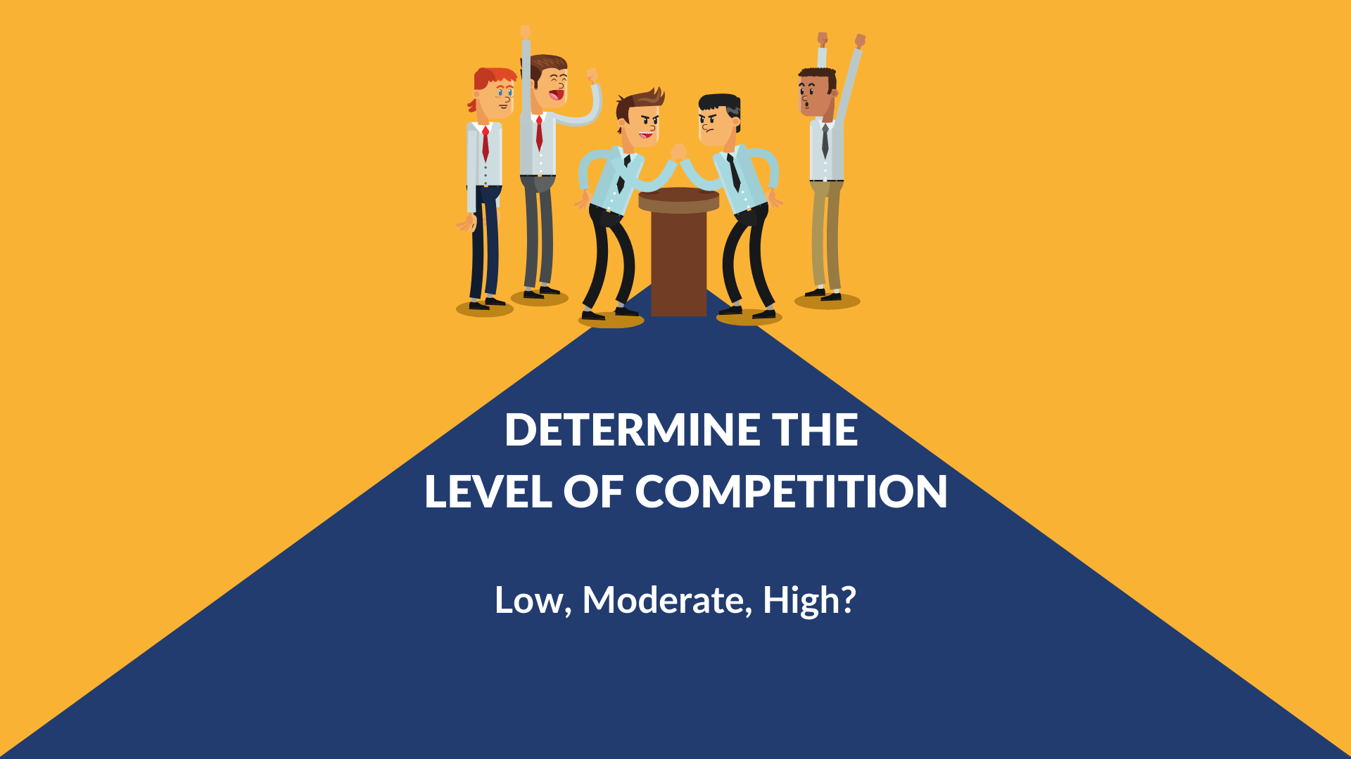 what is the level of competition for your website.