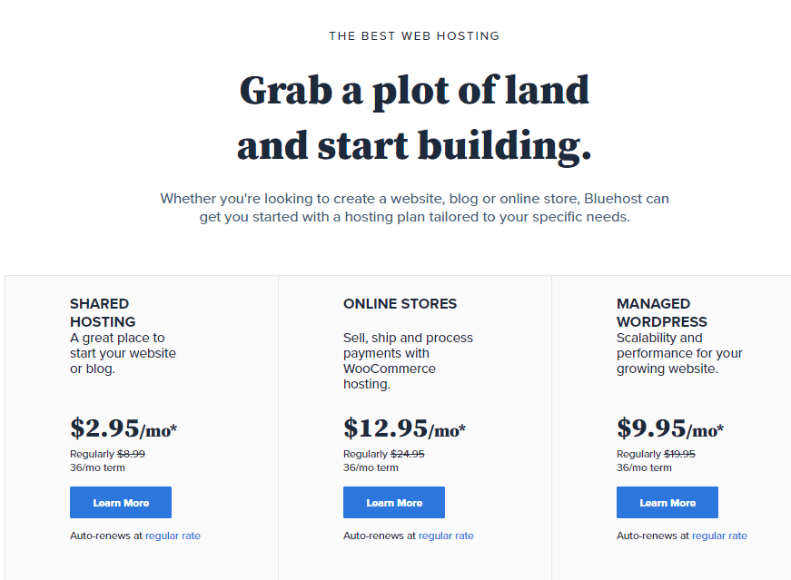 cheap hosting for your amazon affiliate website