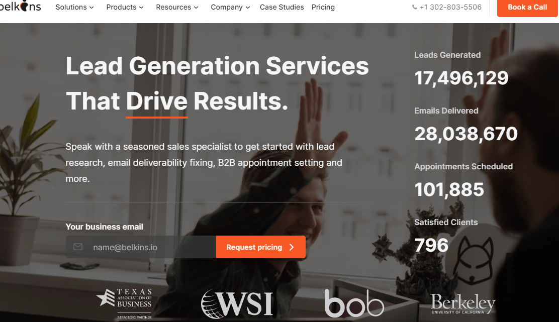 get help with lead generation by belkins