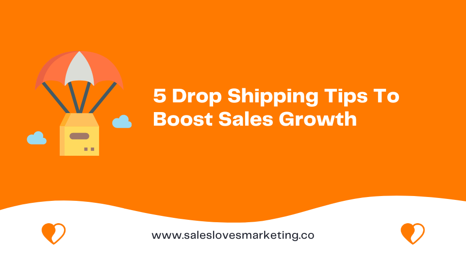 tips on boosting your dropshipping sales