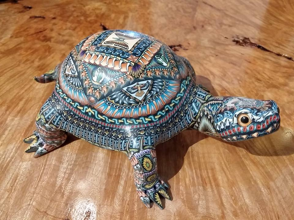 FIMO Creations turtle by Jon Anderson