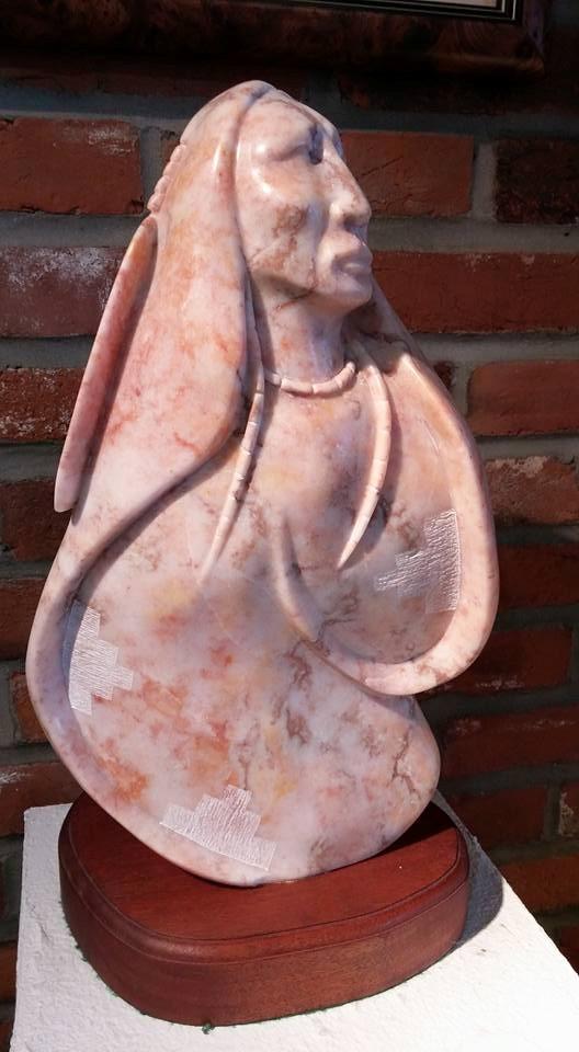 Navajo alabaster sculpture