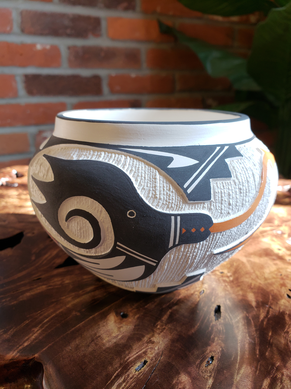 Acoma pot by artist