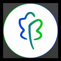 Blue Oak Media Circle Logo