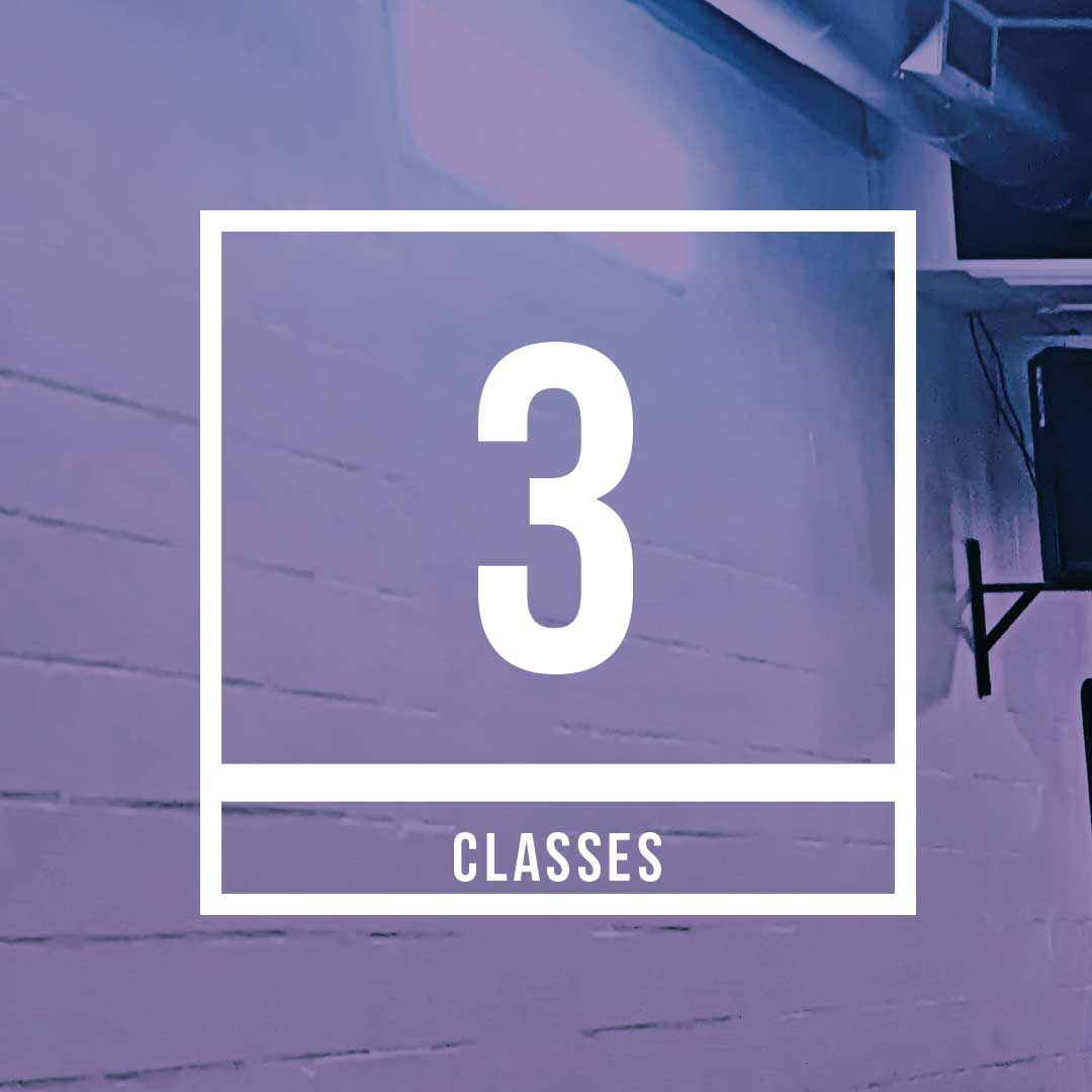 Intro Offer 3 classes for $45