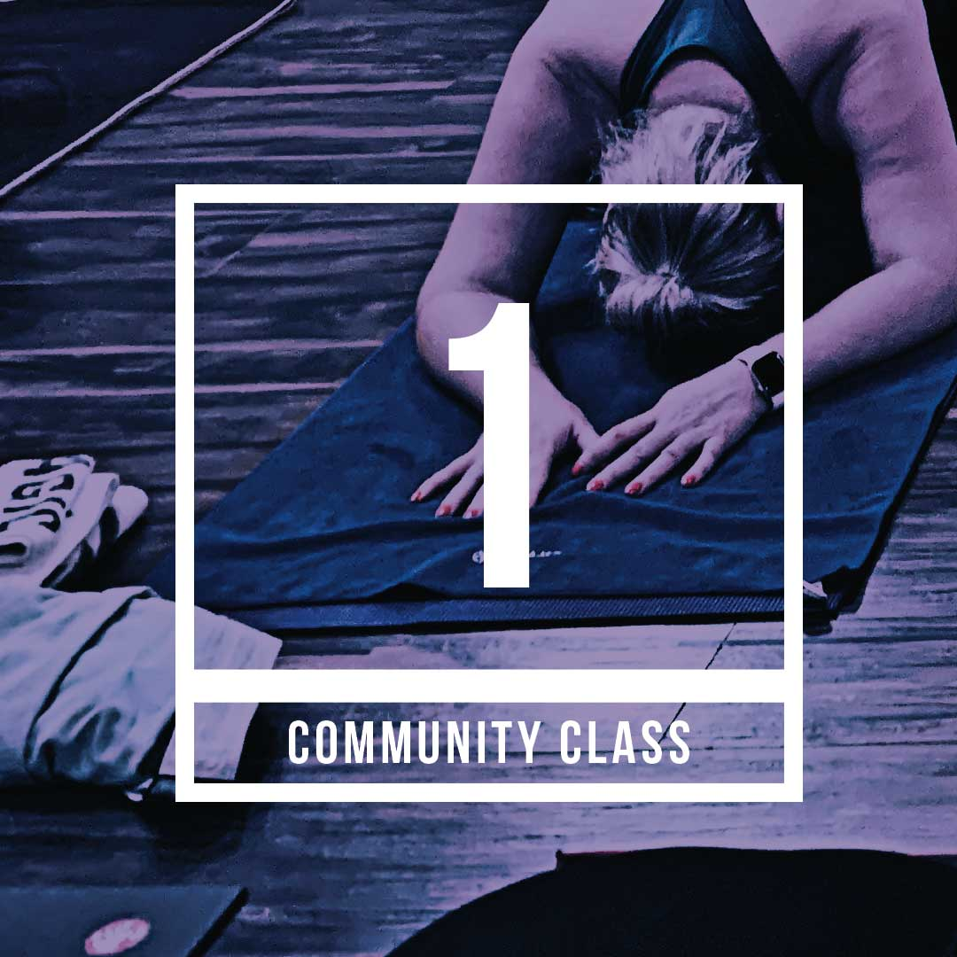 Community yoga class at College Park Yoga, only $10!
