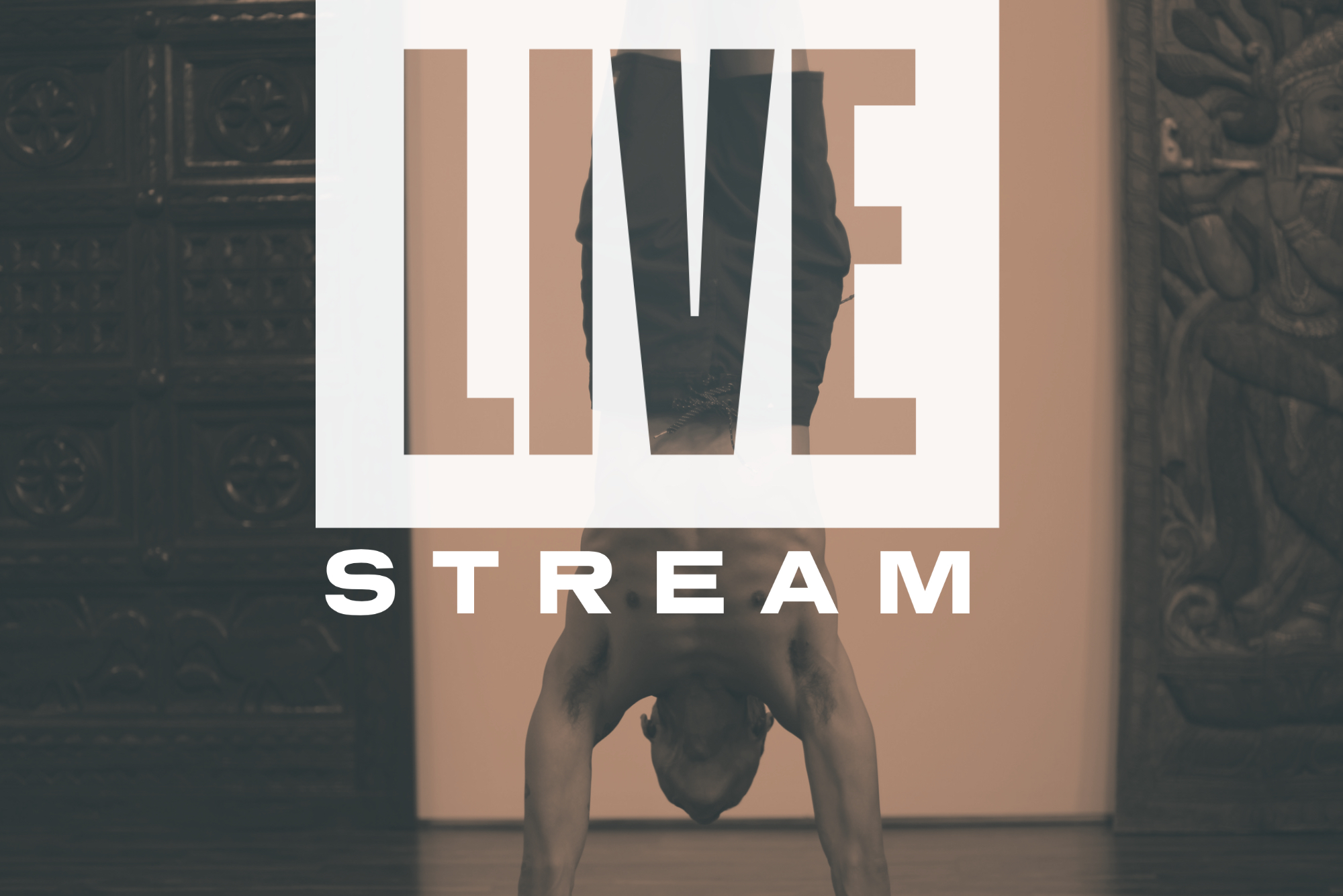 LIVESTREAM college park yoga classes