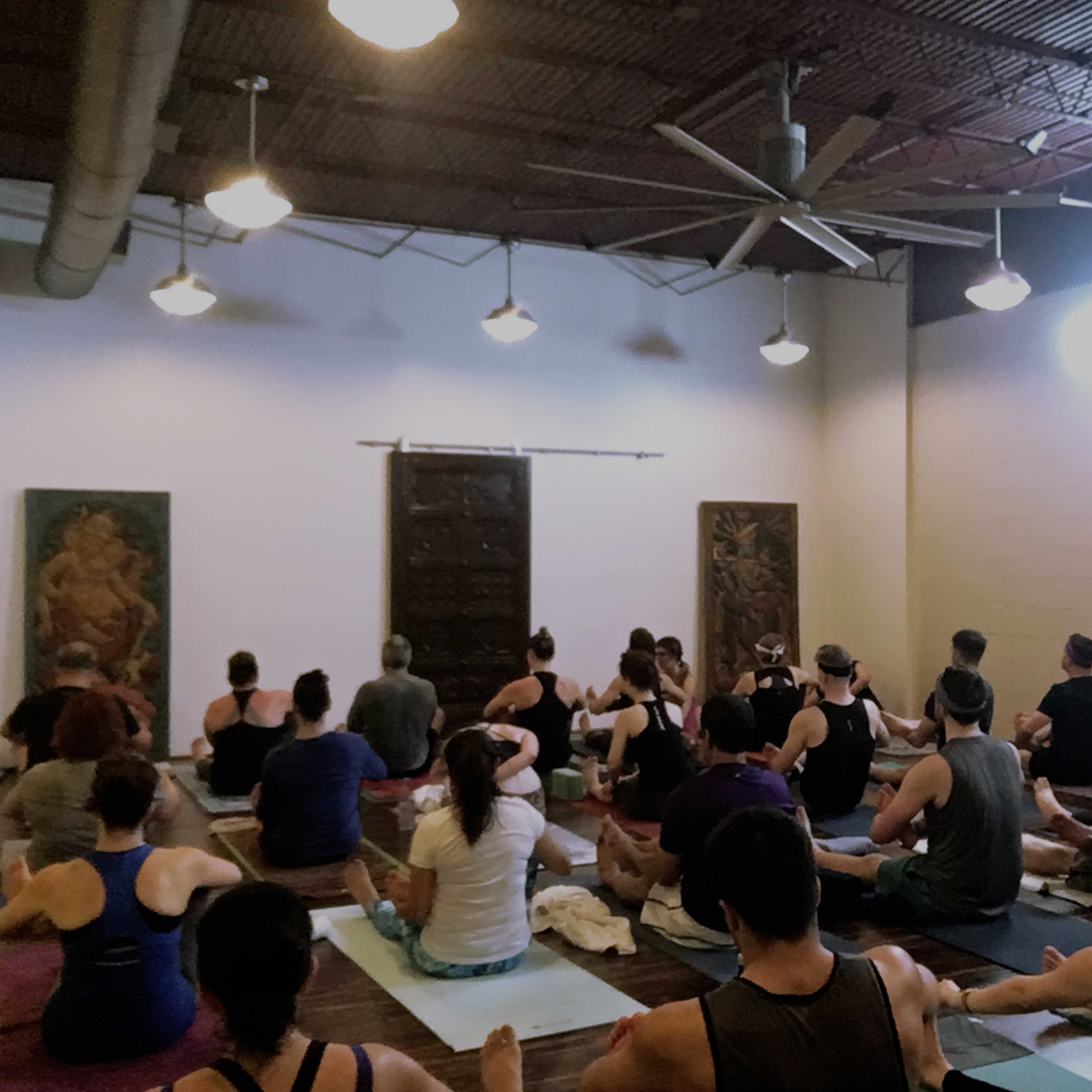 Unlimited passes at CPY include Live-stream yoga sessions!