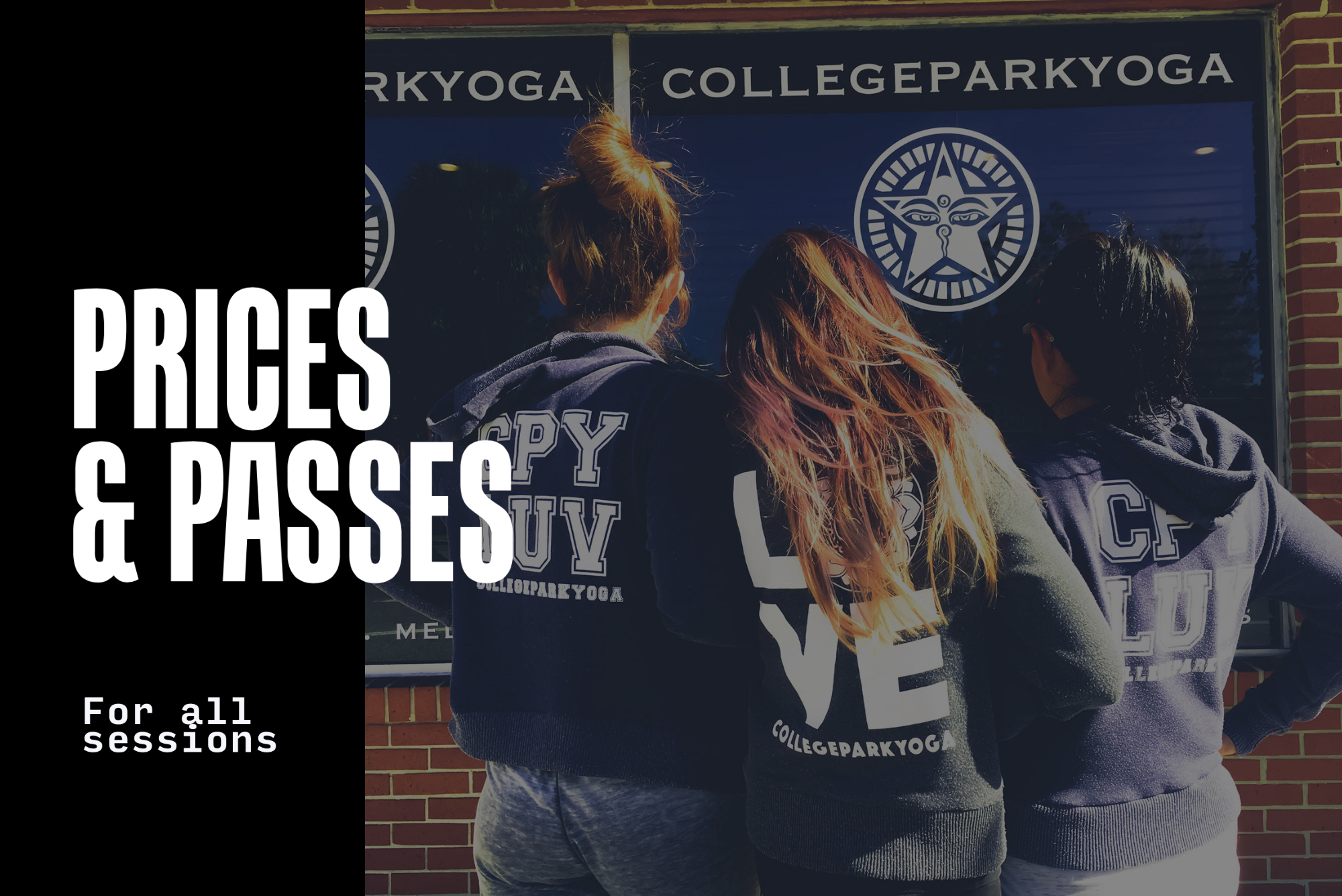 Live-stream college park yoga classes with Theresa & Calvin!