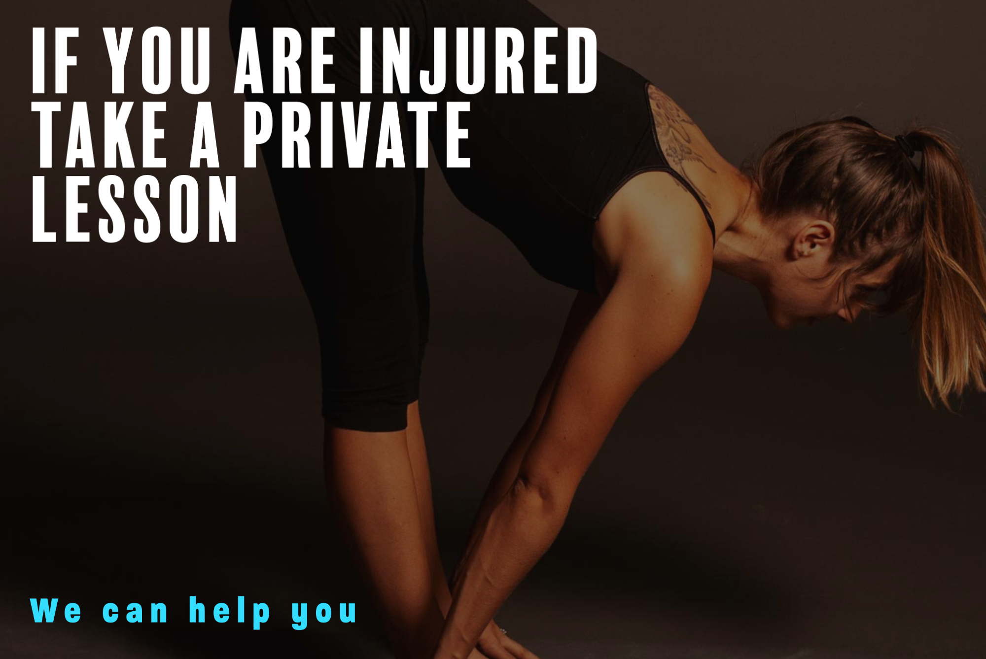Get good training!  CPY is the local leading expert on yoga and injuries.  Set up a personal training session today!