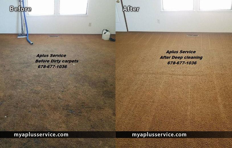 Deep Carpet Steam Cleaning