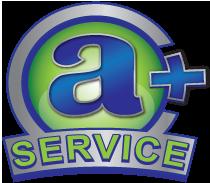 A Plus Service Logo