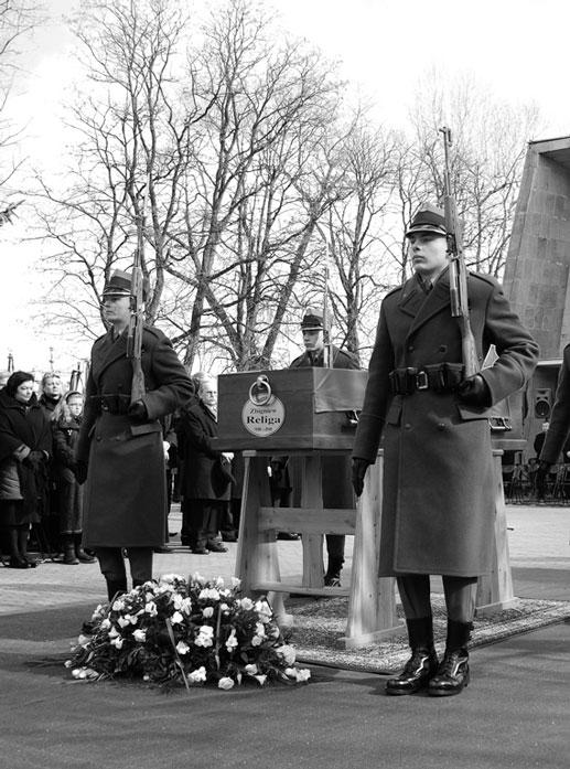 Zakład Pogrzebowy Exitus, Pogrzeb Zbigniewa Religi