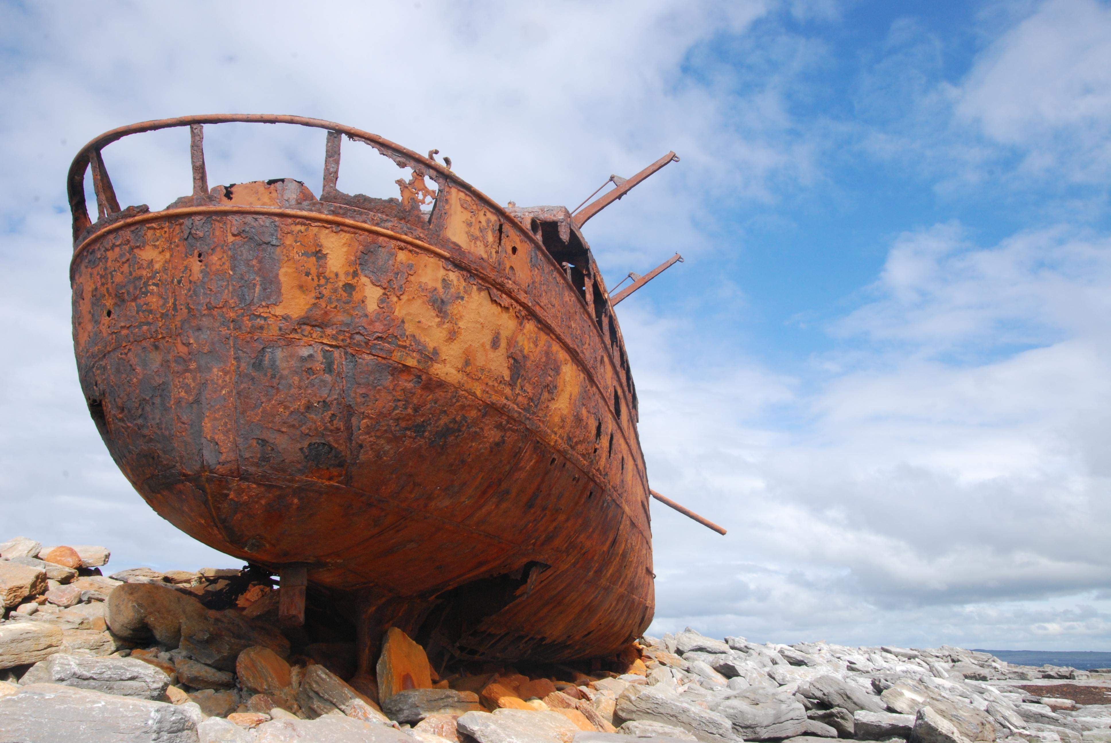 Aran Island Ship Sideview