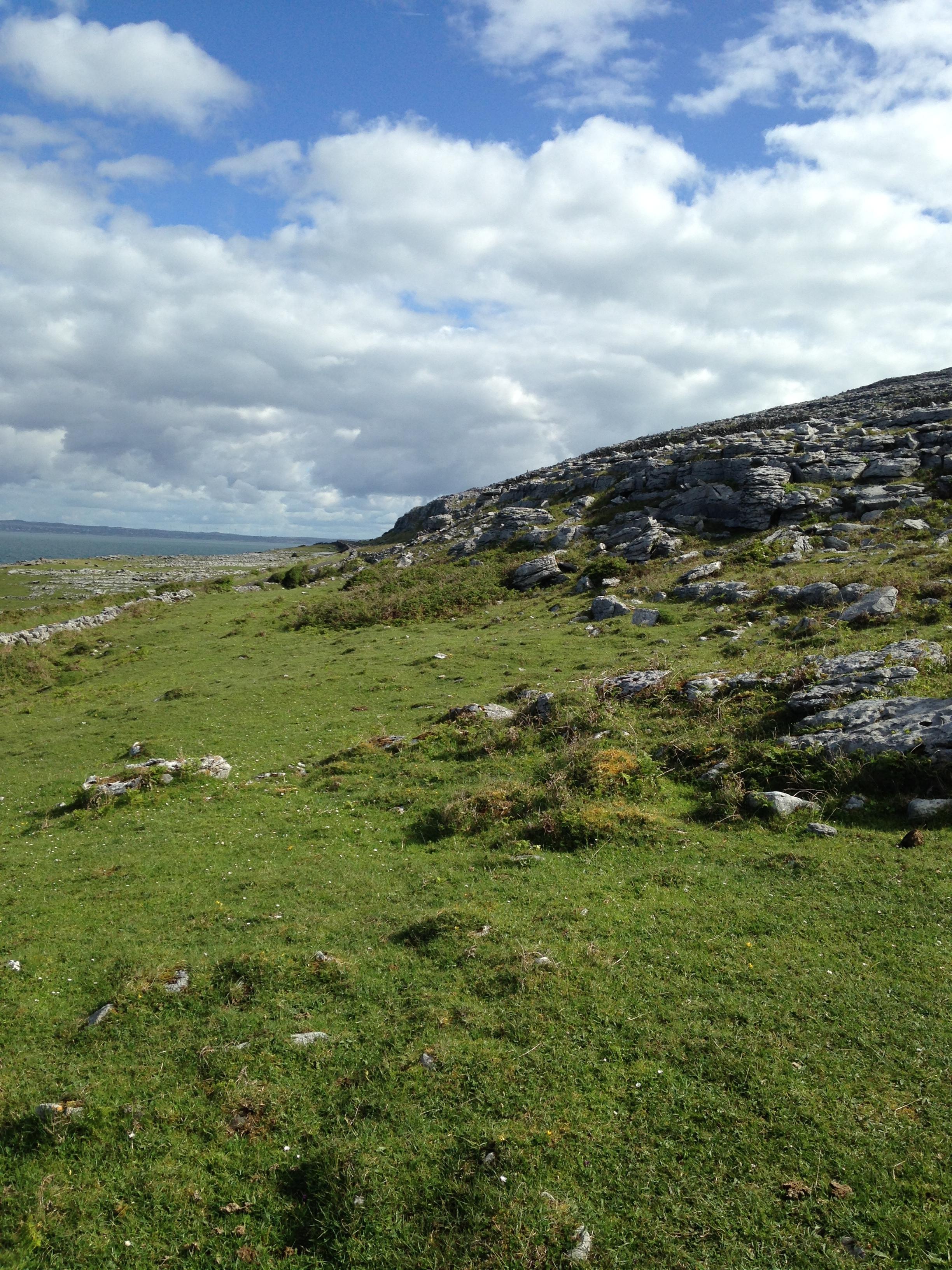 Ballyvaughn Mountainside (second view): Ballyvaughn Ireland