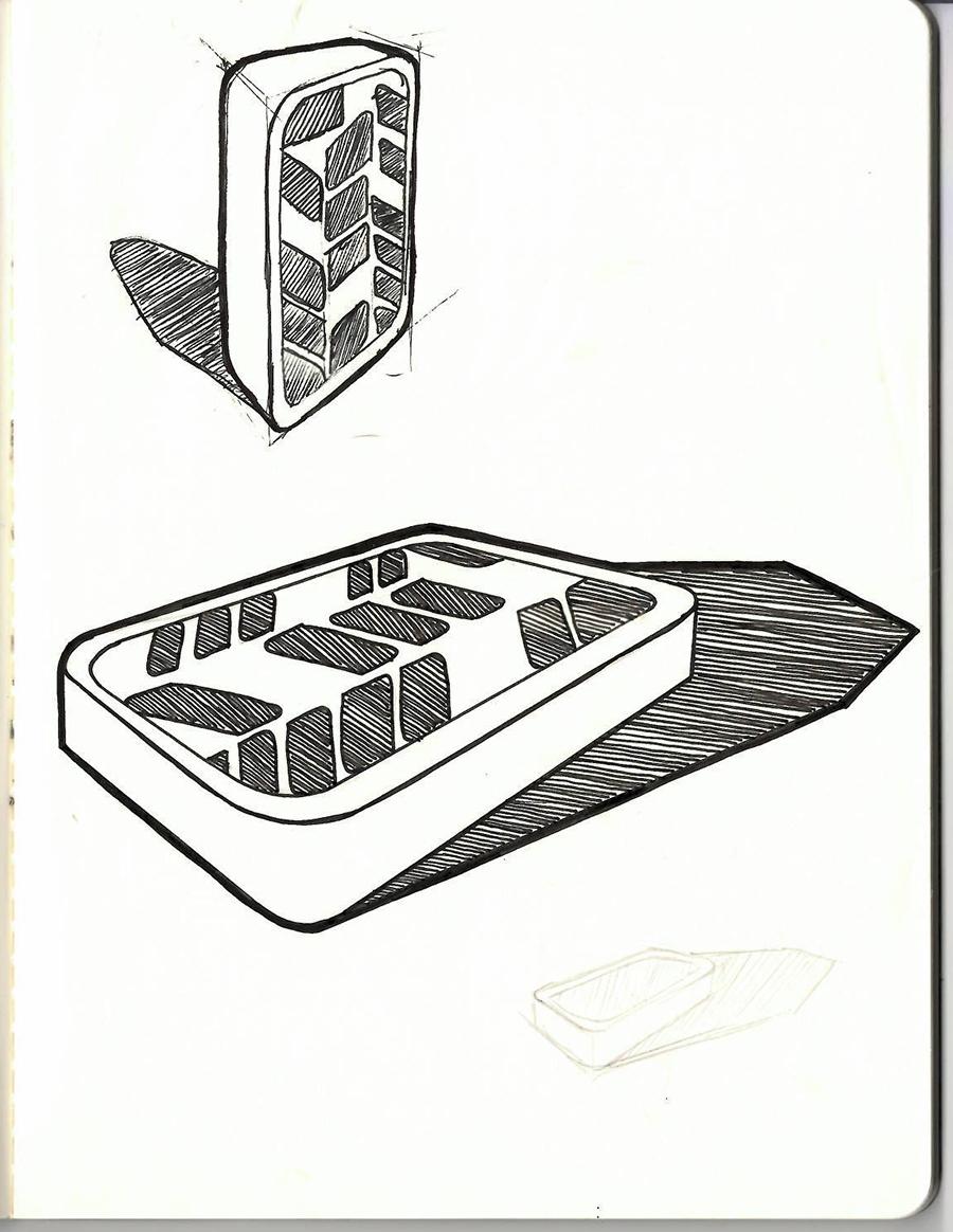 Design Drawings of Seed Phone Case