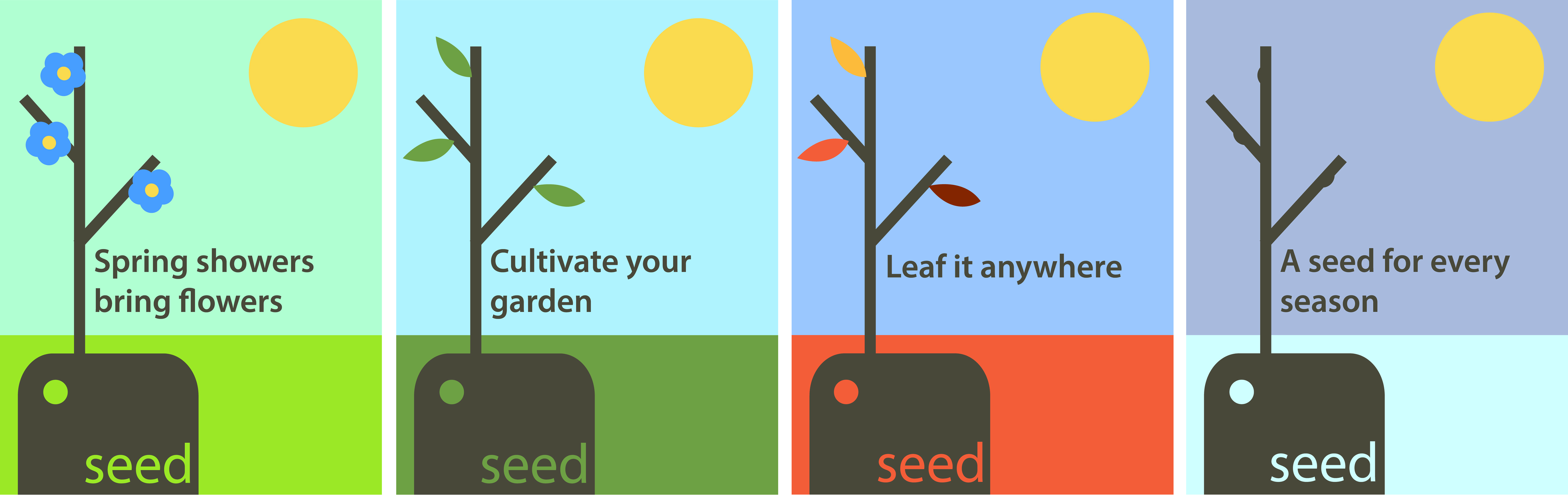 Seed Promotional Posters