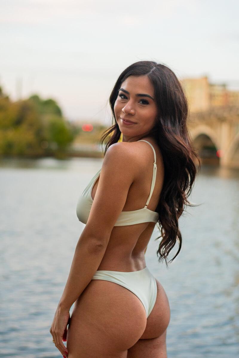 Dariela Flores Branding Swimsuit Angelica Carrete Photography