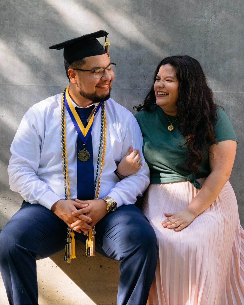 Gus senior couple portrait Austin St Edwards