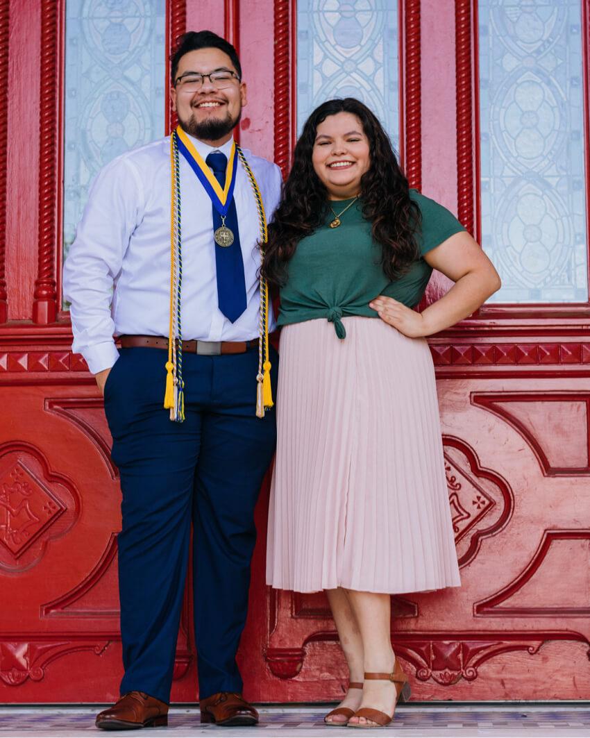 Gus senior couple portrait