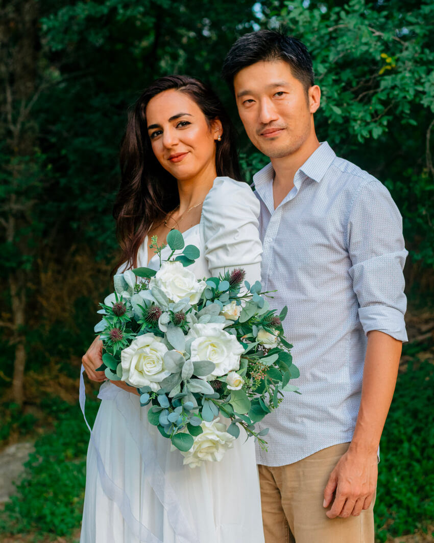 Yona & Josh Couple Portraits Romantic