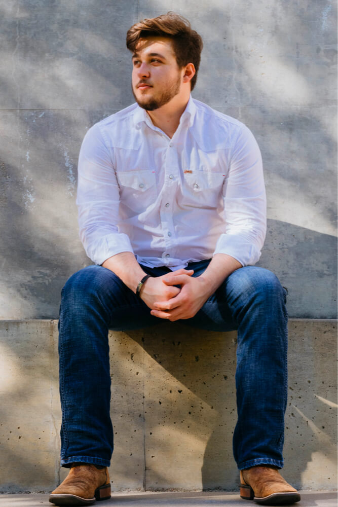 William Senior portrait photography