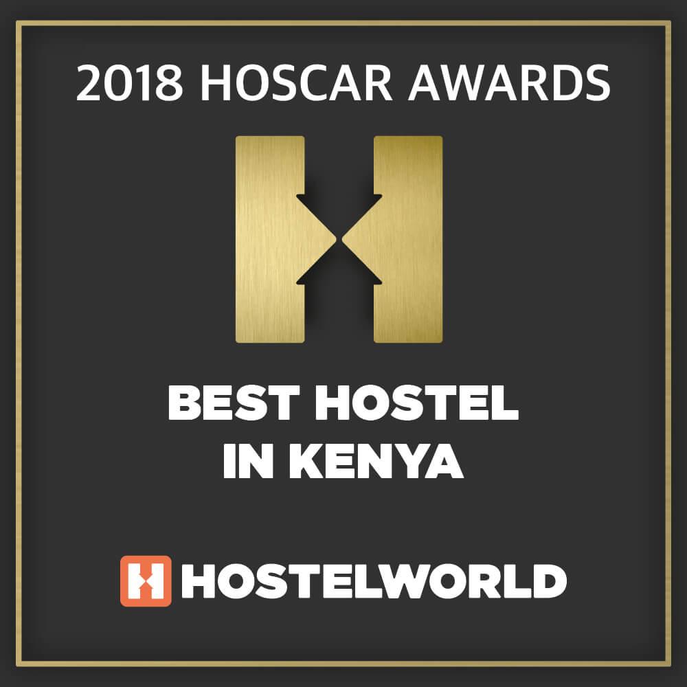 2018 Hoscar Award for Best hostel in Kenya
