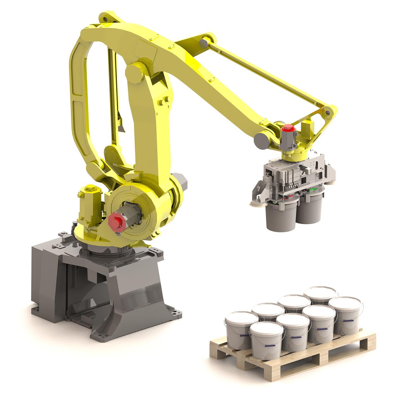 Robot di pallettizzazione