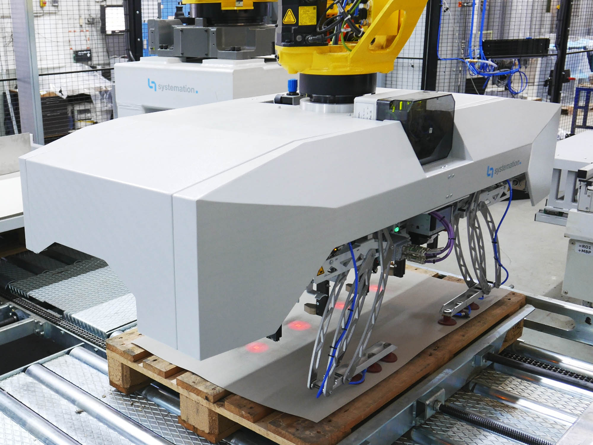 Palletti Robot Interface
