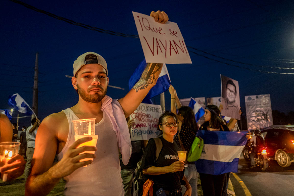 Qué se vayan! Nicaragua