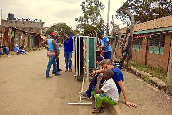 Sander Degeling Mobile School Nairobi Kenya