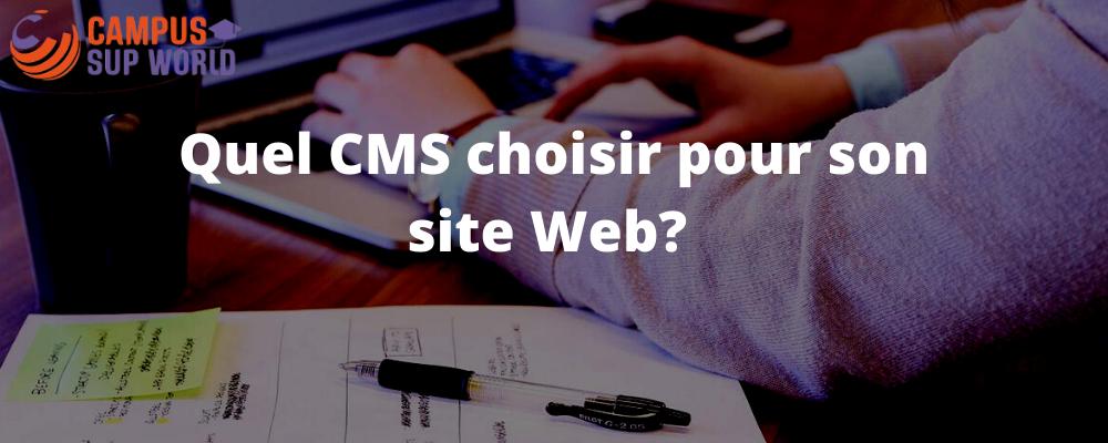 Quel CMS choisir ?