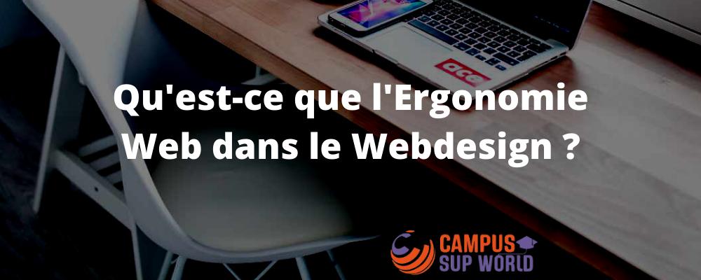 Qu'est-ce que l'ergonomie Web
