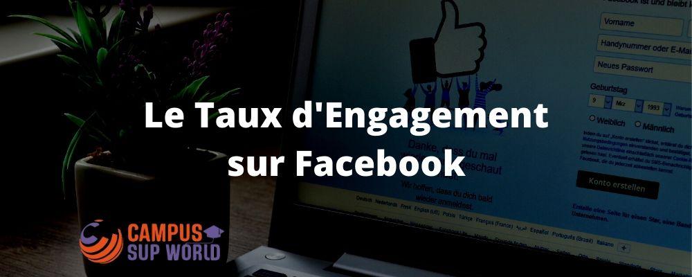 Le Taux d'Engagement sur Facebook