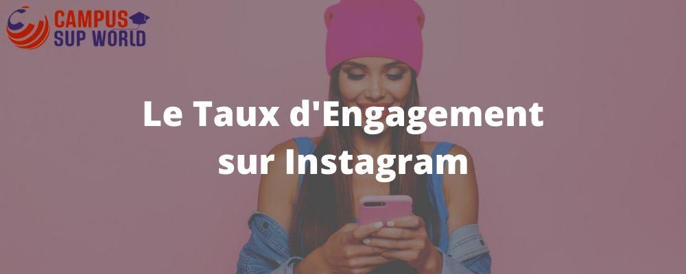 Le Taux d'Engagement sur Instagram