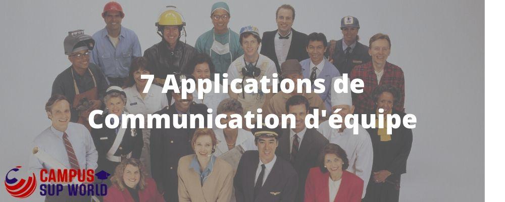 Les Meilleures applications de communication d'équipe