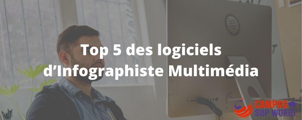 Top 5 des logiciels d'infographiste multimédia