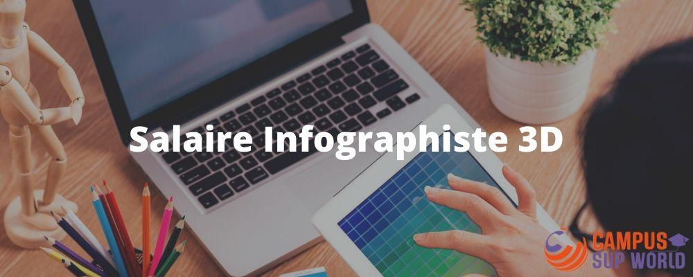 Salaire d'Infographiste 3D