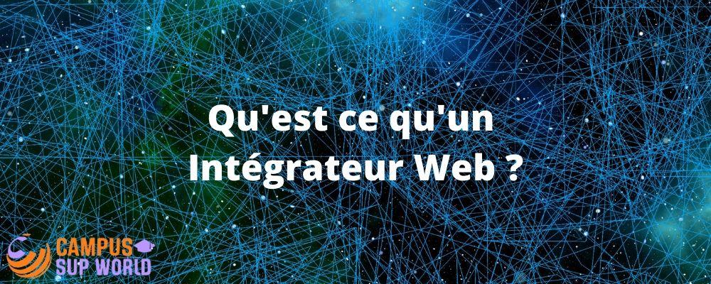 Rôle de l'Intégrateur Web