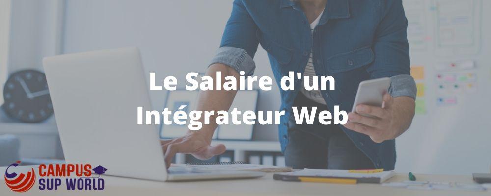 Le salaire d'Intégrateur Web