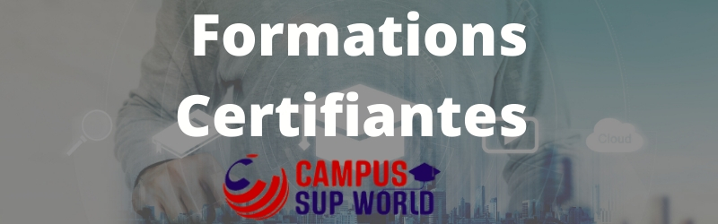 formation certifiantes campus sup world