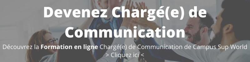 Devenir chargé de communication - Formation en ligne