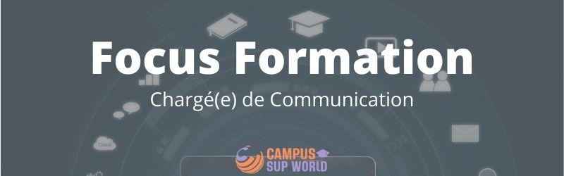 Focus sur la formation Chargée de communication