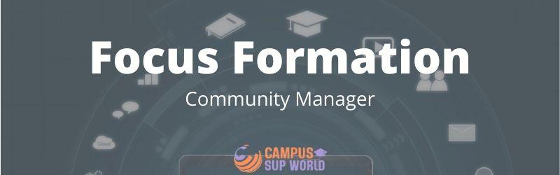 Focus sur la Formation Community Manager