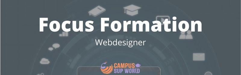 Focus sur la Formation Webdesigner