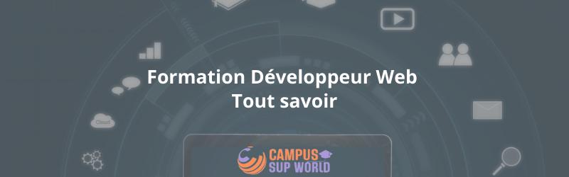 Formation Développeur Web : Tout savoir